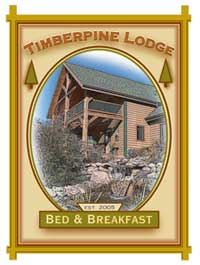 timber pine lodge bed and breakfast, Adel, IA