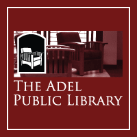 Garage Sale at the Adel Public Library