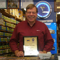 ASE Counterman/Store Owners of the Year Award