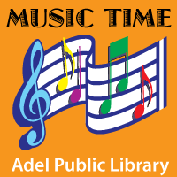 Music Time at Adel Public Library