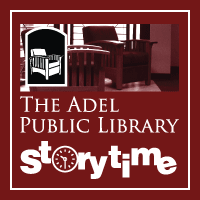 Free Preschool and Toddler Story Time at the Adel Public Library