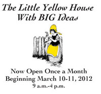 Little Yellow House - Garden Gate Antiques - Adel Iowa