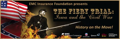 """The Fiery Trial: Iowa and the Civil War"" Adel Public Library"