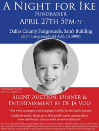 A Night for Ike - Fundraiser