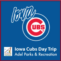 Adel Parks and Rec Iowa Cubs Trip