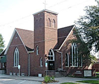 Adel UMC Church - Adel Iowa