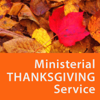Adel Ministerial Community Thanksgiving Service