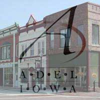 Adel Main St. Adel Iowa