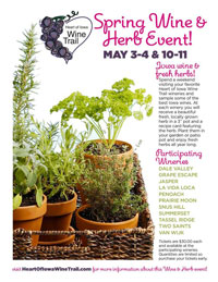 2014 Spring Wine and Herb Event