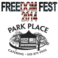 Freedom Fest 2014 - Park Place Catering Adel Iowa