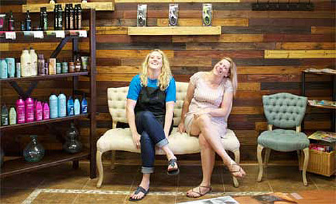 Courtney harden and missy powers texture salon spa for Adel salon services