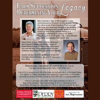 ISU Ext. Farm Succession: Determining Your Legacy