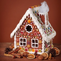Build a Ginger Bread House at the Adel Library