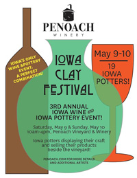 2015 Iowa Clay Festiva - Penoach Winery Adel Iowa