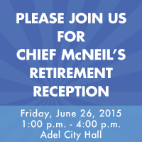 Chief McNeils Retirement Party