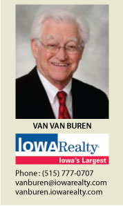 Van Van Buren Real Estate Agent - Iowa Realty