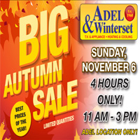 Adel Winterset - Annual Fall Sale 2016