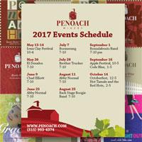 Penoach_2017_event_schedule
