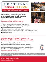 Strengthening Families Program 2018